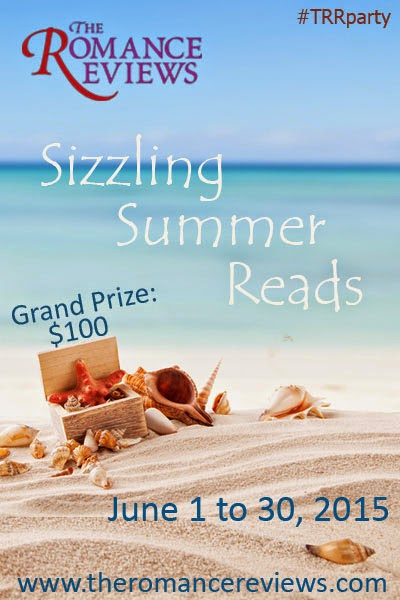 The Romance Reviews' Sizzling Summer Reads Party in June