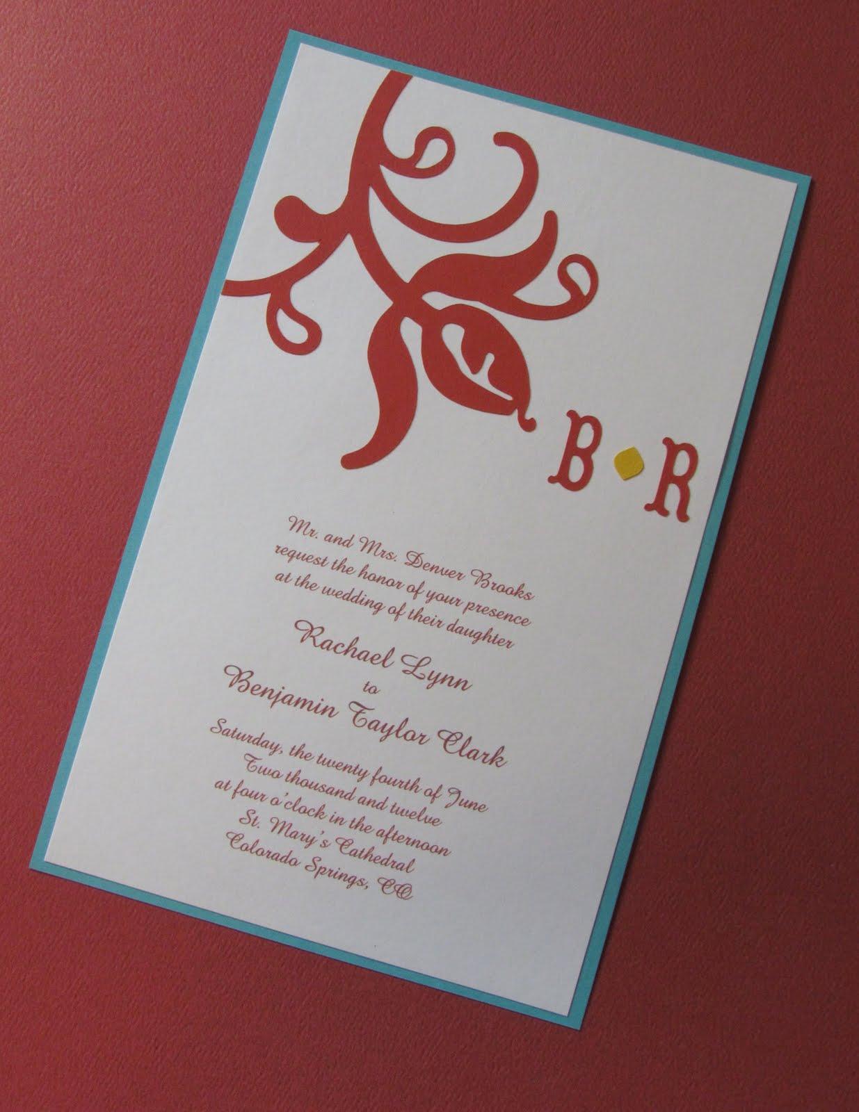 We Can Do It Girls: Wedding Invitation Consultation