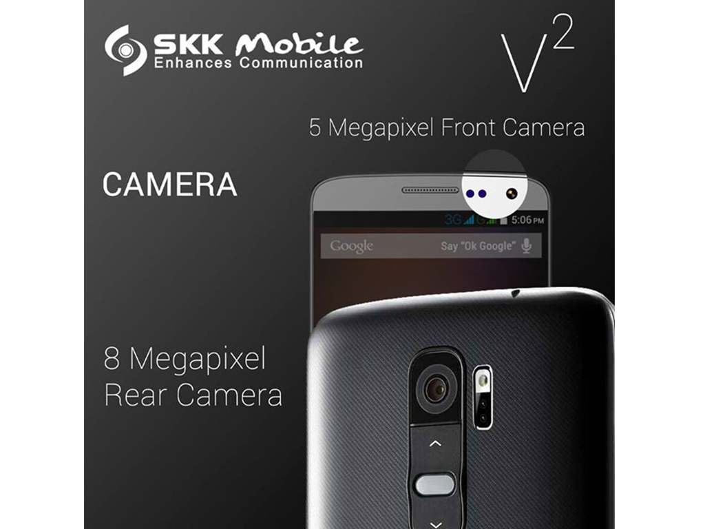 SKK Mobile V2, the LG G2 clone priced at Php 4,999!