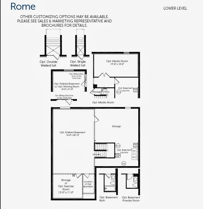 Building Rome with Ryan Homes Rome Sweet Home Floor Plan