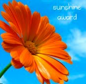 I've Won the Sunshine Award!