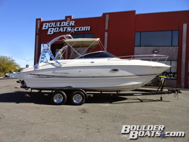 Boulder Boats Blog 2002 Monterey 248 LS Montura CD