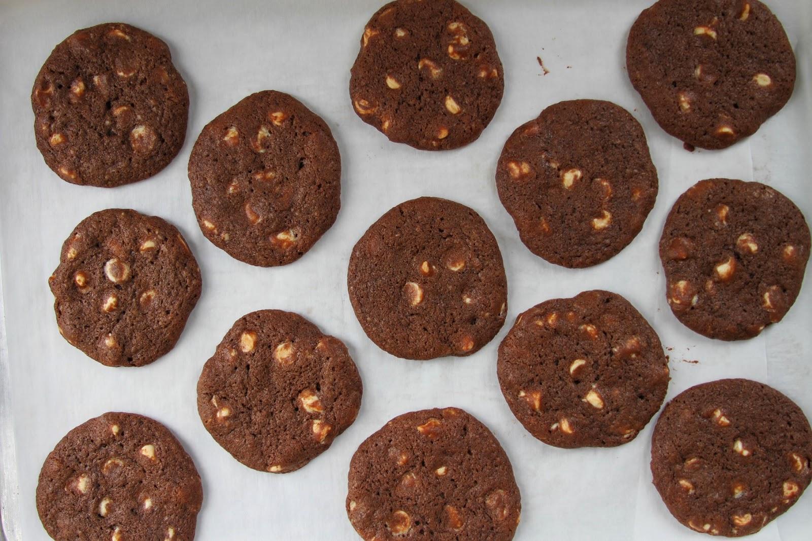 Ina Garten Double Chocolate Chunk Cookies