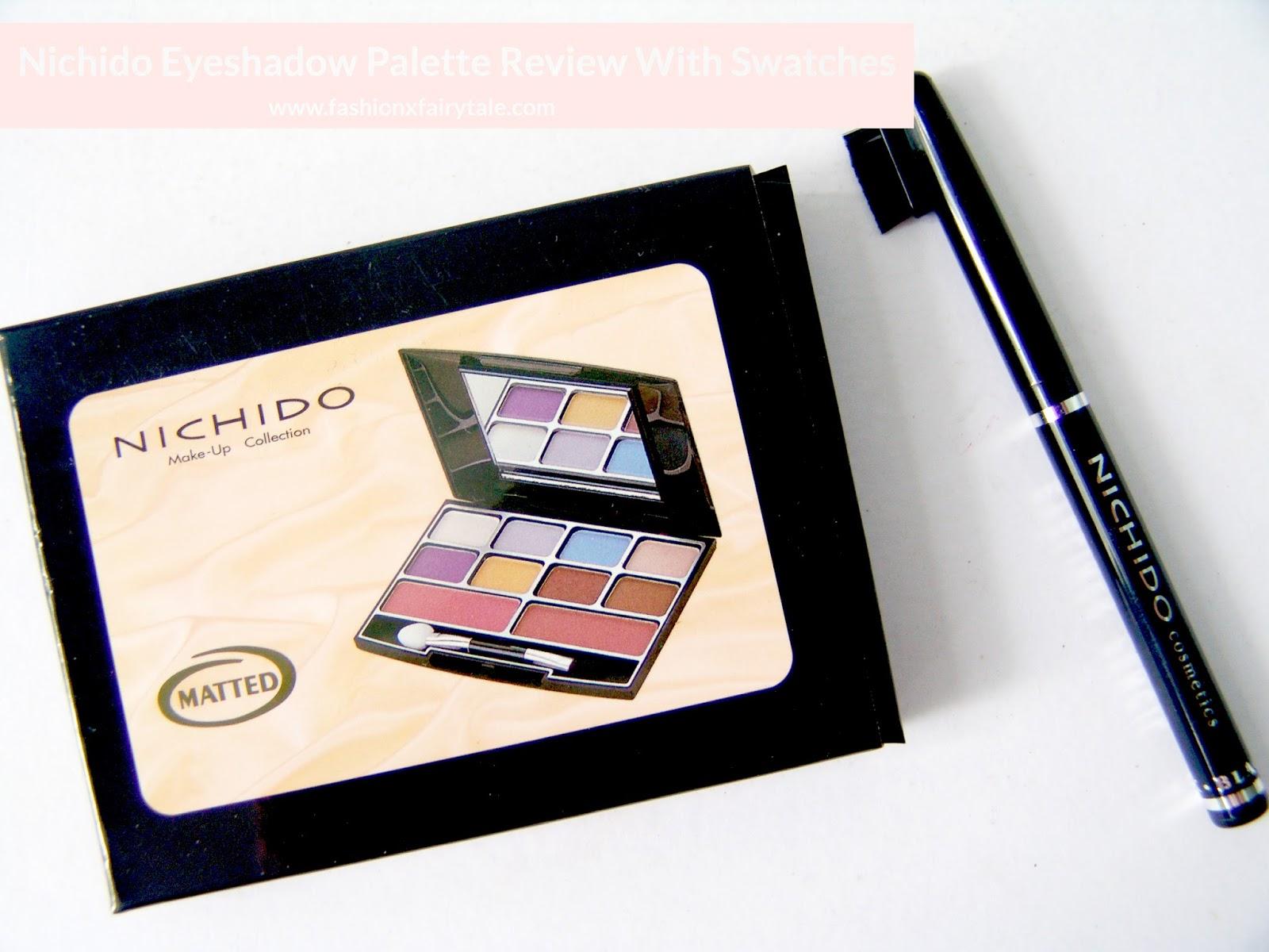 Nichido Eyeshadow Palette | Review & Swatches