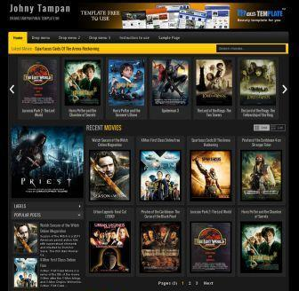 Johny Tampan Blogger Template
