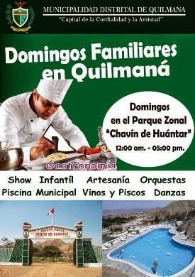DOMINGOS FAMILIARES EN QUILMANÁ