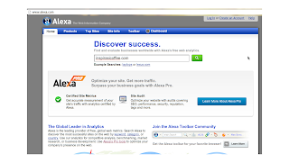 cara memasang ranking alexa di blog
