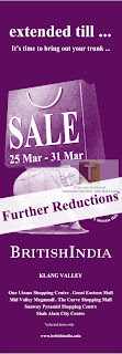 BritishIndia Sale 2013