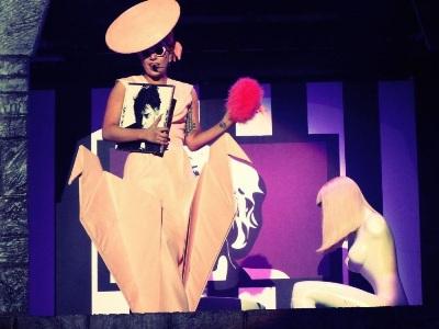 foto unik Lady Gaga