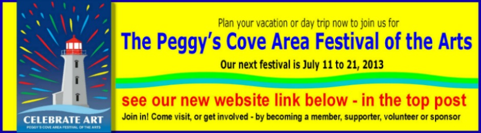 Celebrate Art at the Peggy's Cove Area Festival of the Arts