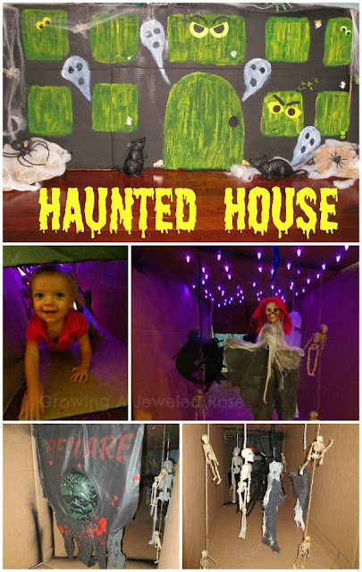 Haunted house Halloween fun