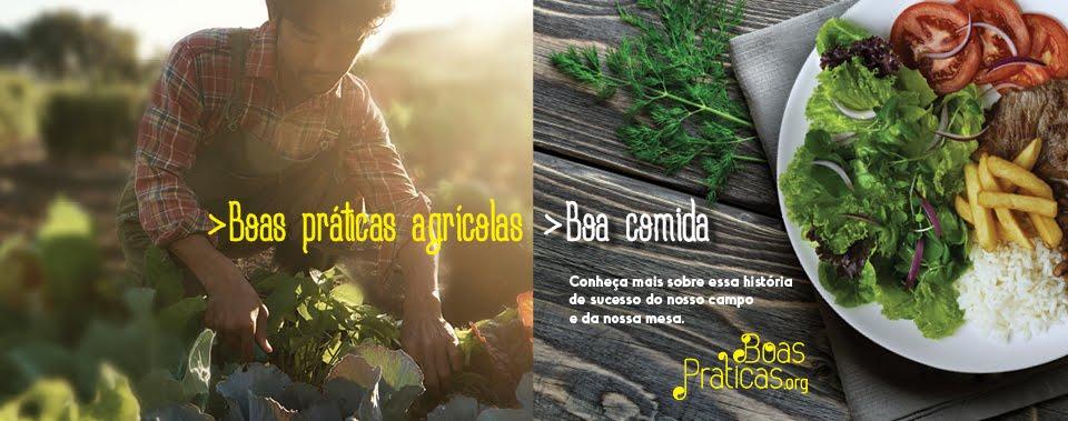 """Projeto """"Boas Práticas Agrícolas, Boa Comida'"""