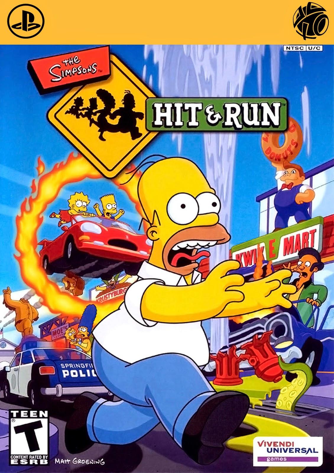 The Simpsons Hit & Run [PS2]