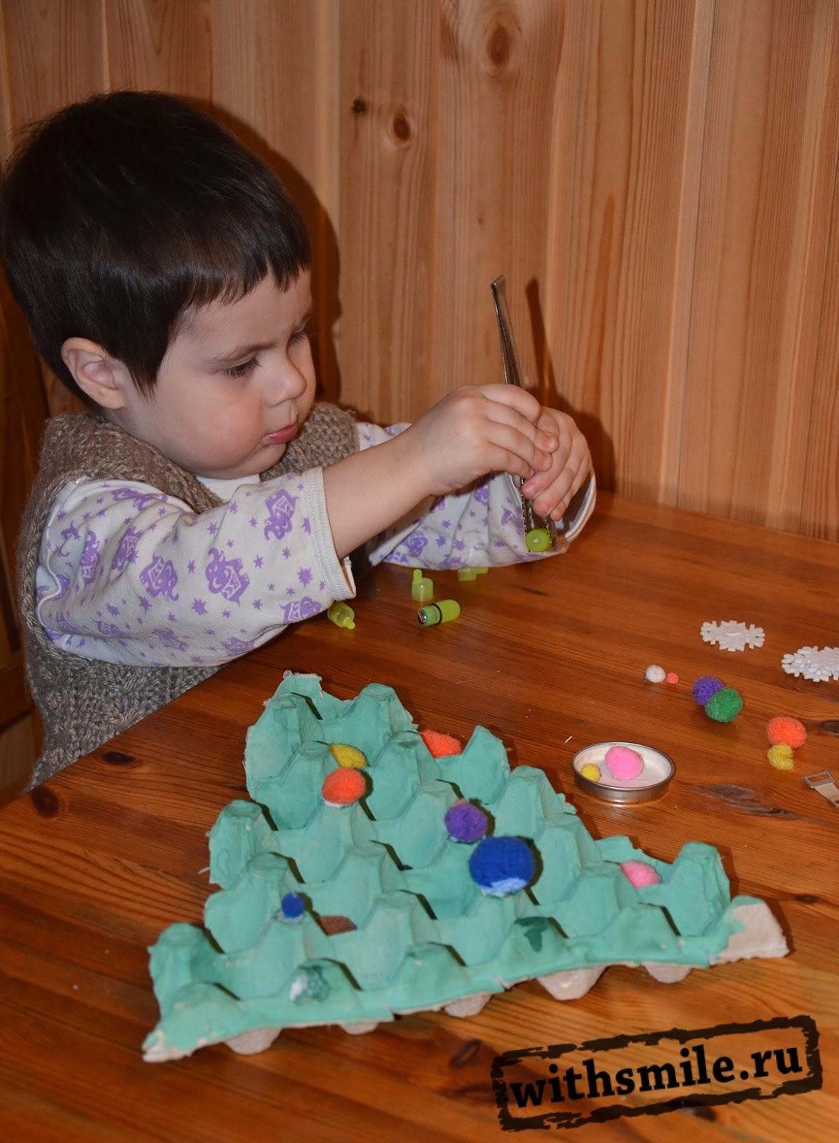 Фото детей делающих поделки