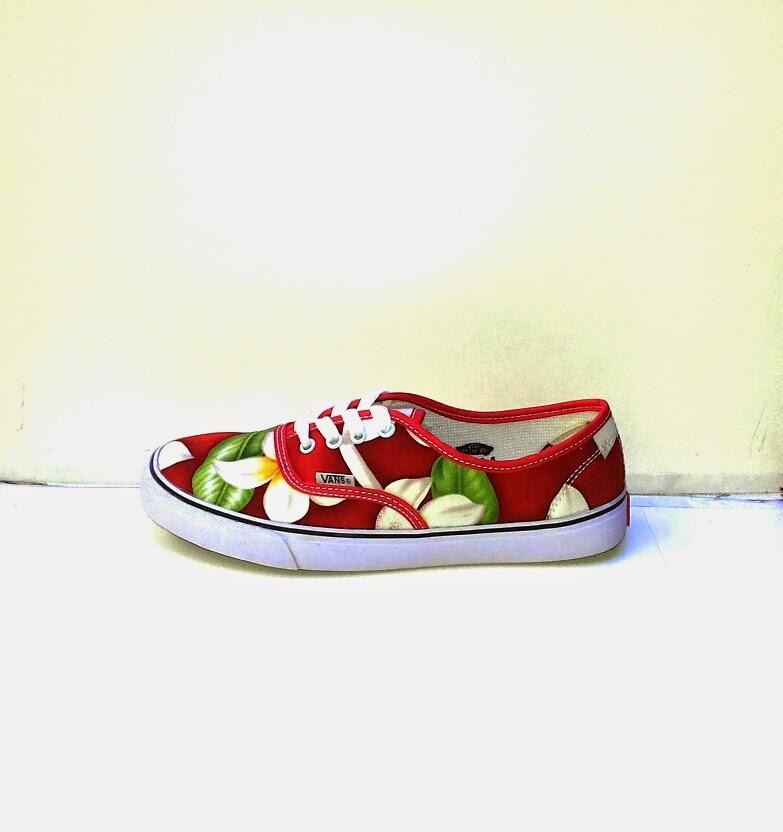 Sepatu Vans Women's Motif Bunga