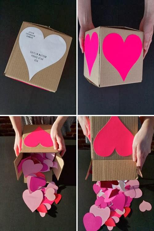 Как своими руками сделать подарки к 14 февраля