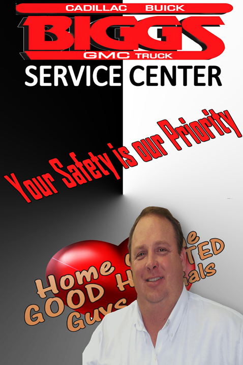 John Underwood, Fixed Ops Director, Biggs Cadillac Buick GMC,  Service Center Elizabeth City NC