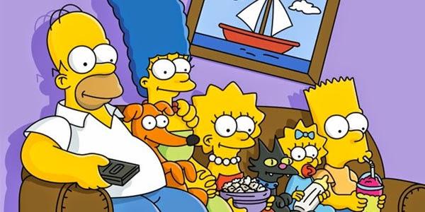 Os Simpsons entre os maiores seriados de todos os tempos.