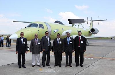 India's DRDO Indigenous AWACS Aircraft