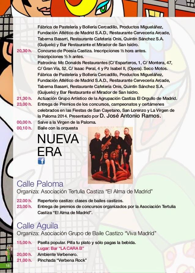 Fiestas de la Paloma y San Cayetano en Cascorro
