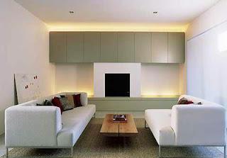 Desain Ruang Tamu Modern Elegan Terbaru