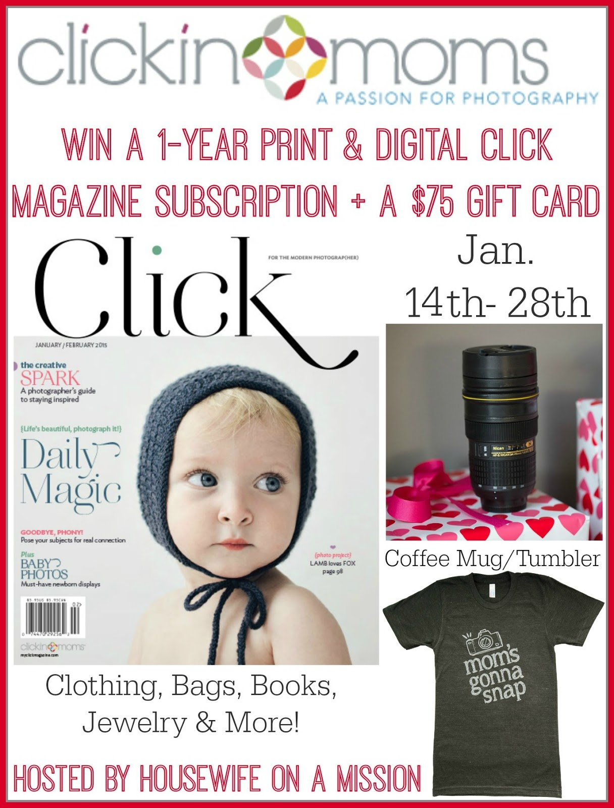 Clickin Moms Giveaway