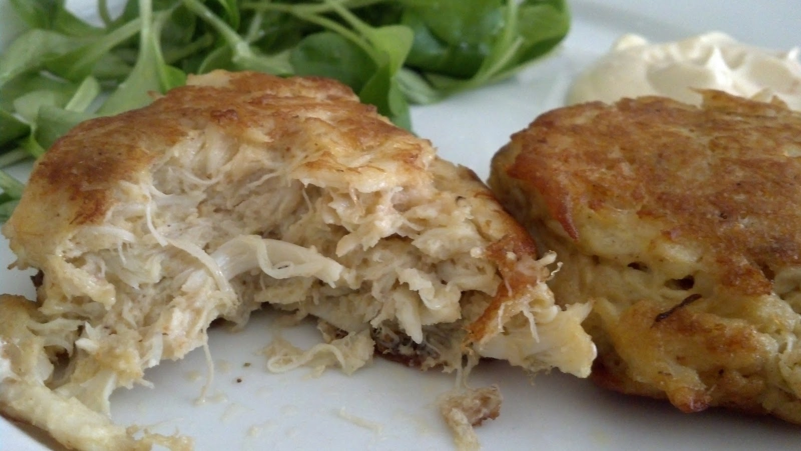 Salted Sugared Spiced Crab Cakes Shaws Style