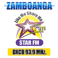 Star FM Zamboanga DXCB 93.9 MHz logo
