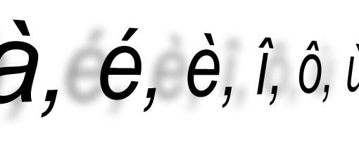 accent grave majuscule clavier