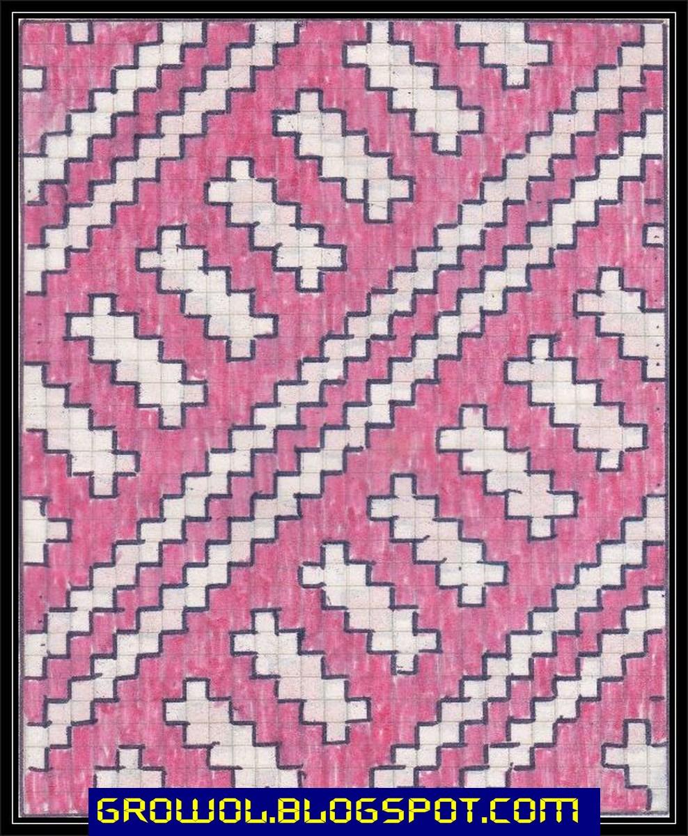nuwun motif dasar besek motif godhong asem motif kembang cengkeh motif ...
