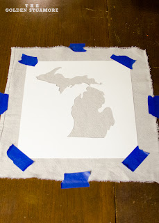 DIY State Map Art