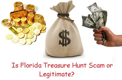 Is Florida Treasure Hunt (Fltreasurehunt.org) Scam or legitimate?