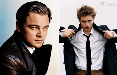 Leonardo DiCaprio and Robert Pattinson
