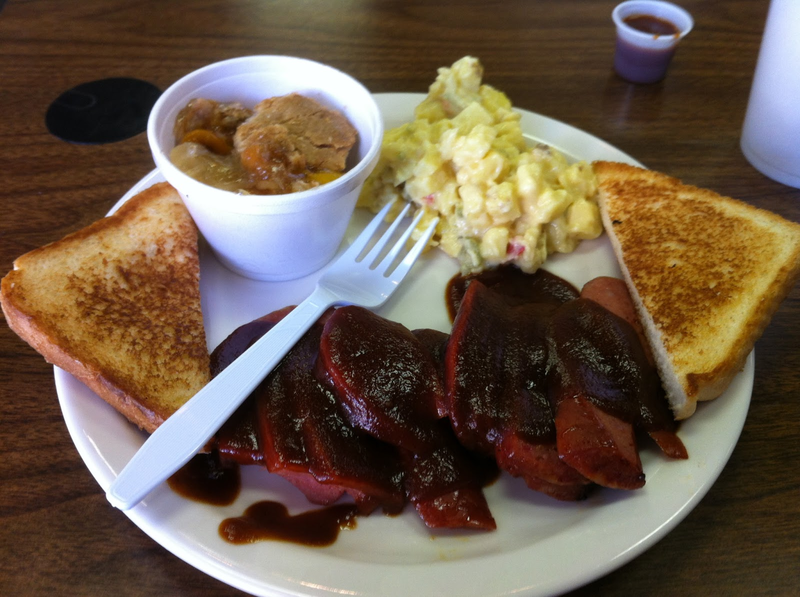 Colt Colter Texas Bar-B-Q Barbecue Barbeque Bar-B-Que BBQ Dallas Sausage