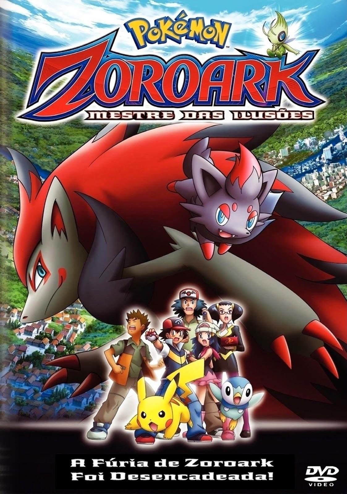Pokémon 13: O Mestre das Ilusões Zoroark – Dublado (2010)