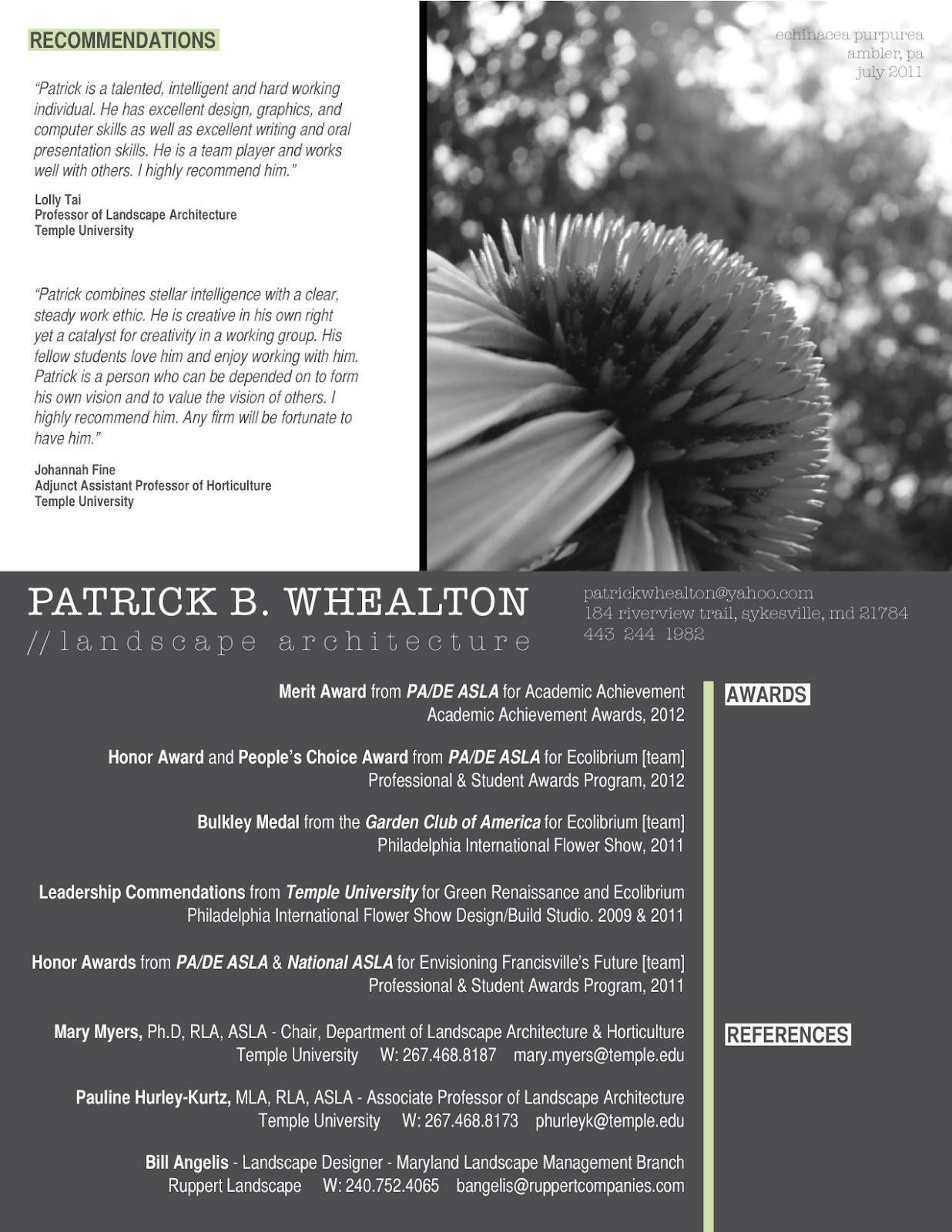 architecture resume resume badak