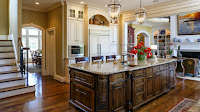 Beautiful Kitchen in American Luxury House