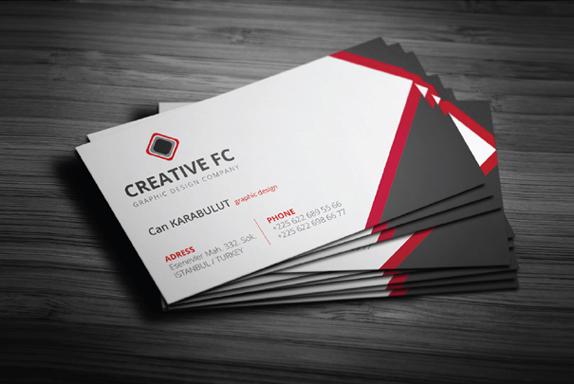 Creative fc corporate business cards graphicsfan creative fc corporate business cards colourmoves