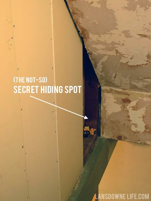 Hiding things inside the walls