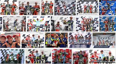 Paruh Pertama MotoGP 2015 Hanya Dikuasai Tiga Pembalap