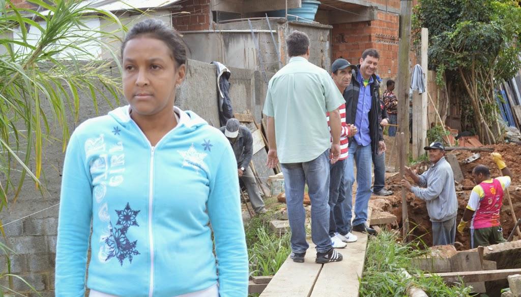 Moradora da Quinta Lebrão, Marlene Veríssimo da Silva confirmou a importância e a necessidade de uma passagem segura para os moradores
