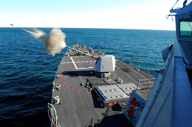 5''/62 caliber Mark 45 Mod 4 Naval gun