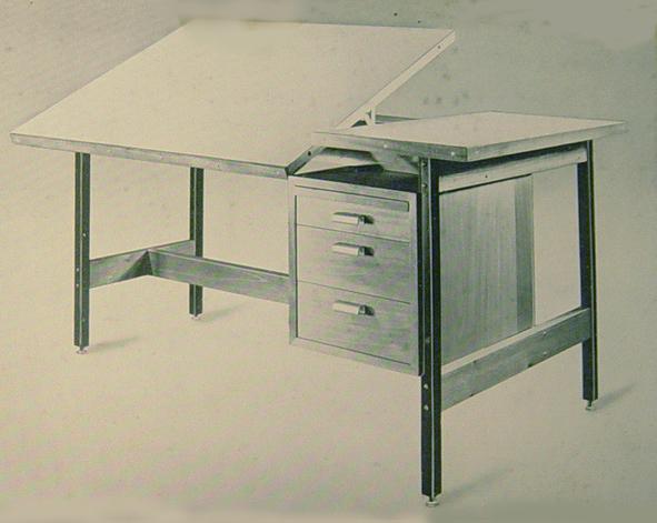 mesa para arquitectos foto extraida de la lnea del tiempo del catlogo del viii saln de inventiva tecnolgica popular luis zambrano