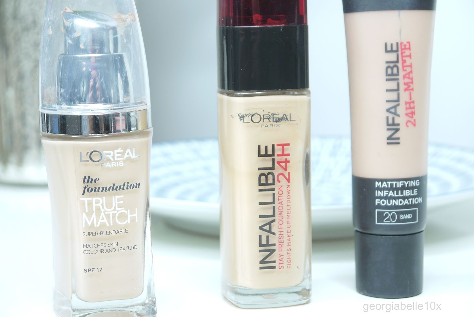 Georgia Belle : WHY I LOVE L'OREAL FOUNDATIONS