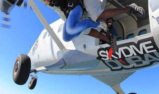 saut en parachute temoignage