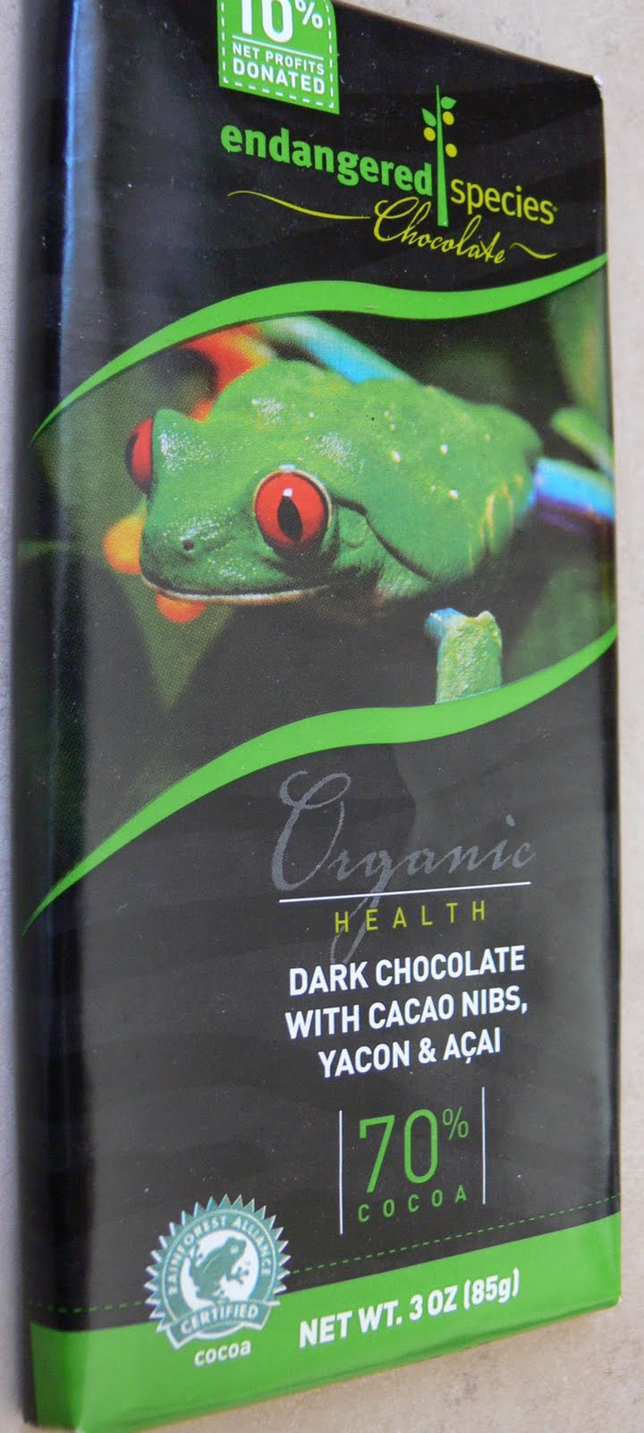 The Ultimate Chocolate Blog: Healthy Chocolate? Endangered Species ...