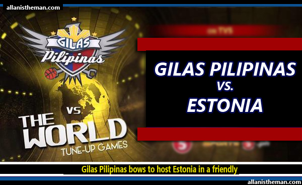 Gilas Pilipinas bows to host Estonia, 90-80 for second straight loss