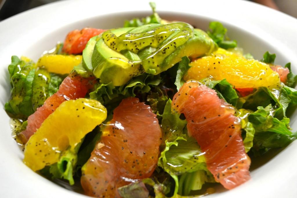 ensalada de c tricos receta vegetariana recetas de cocina