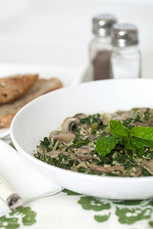 Greek VegetarianVegetarian Greek Easter Soup (Magiritsa), with