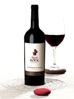 picture of a bottle of Red Rock Winery's Reserve Winemaker's Blend, 2011